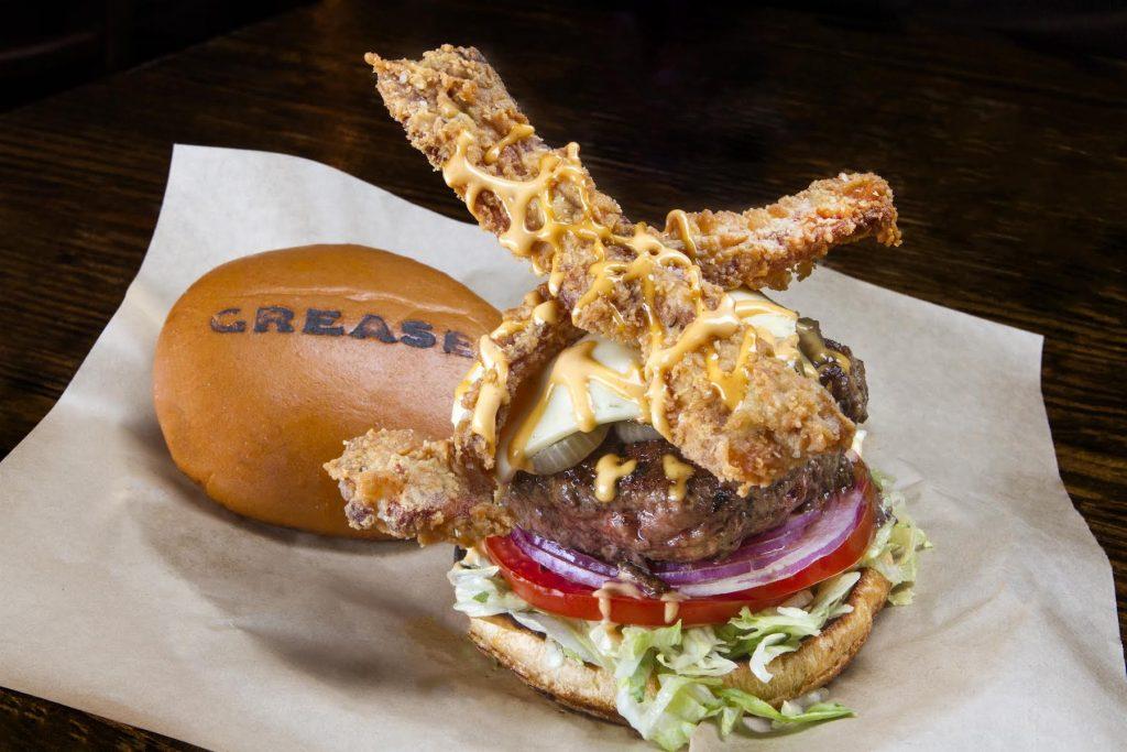 Grease Brinkman Burger