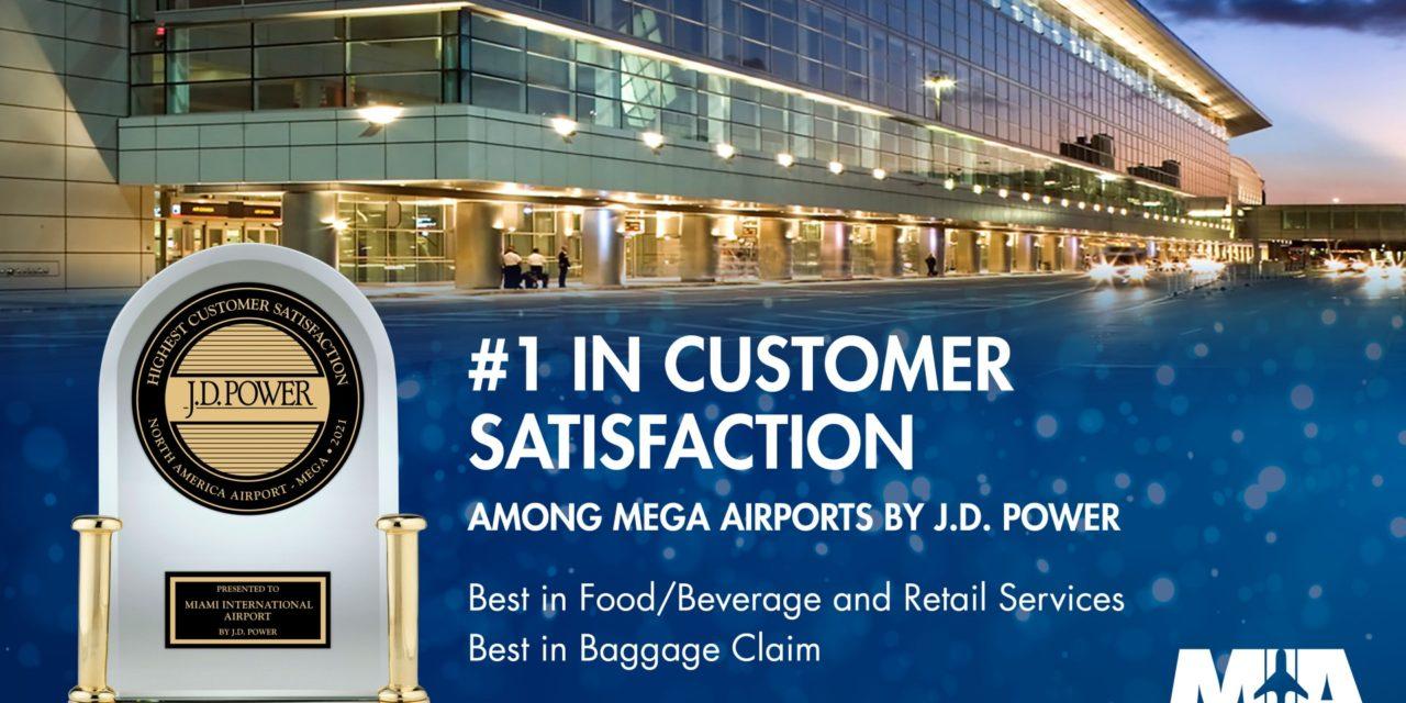 MIA ranked best mega airport in North America