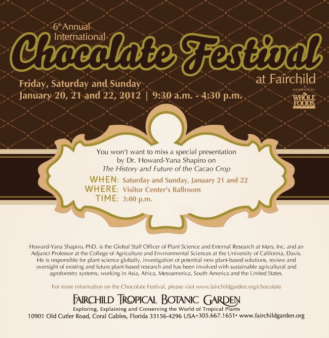 6th Annual International Chocolate Festival