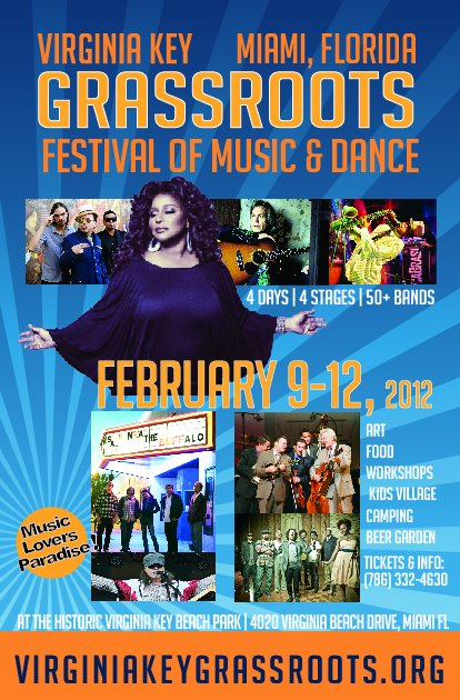 Virginia Key GrassRoots Festival of Music & Dance Celebrates Diversity through Arts, Culture and Music