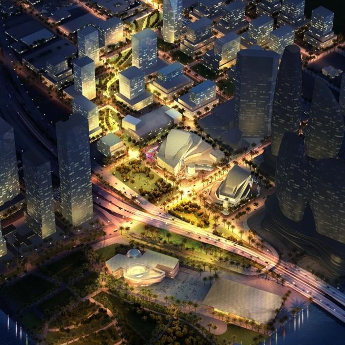 Aspirational Design Plan for Miami's Arsht Center Neighborhood