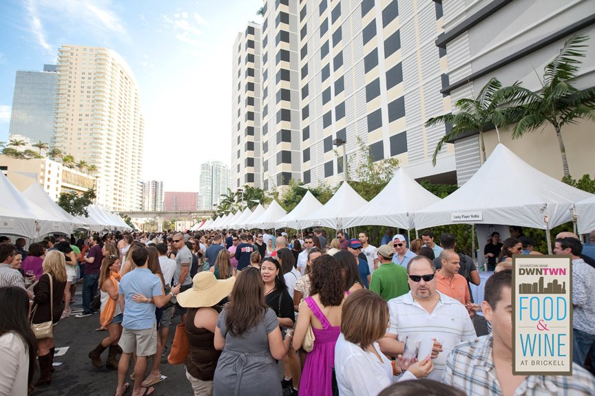 DWNTWN Food & Wine Festival at Brickell 2012 Video
