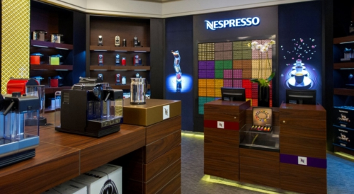 Nespresso Opens First Boutique-in-Shop Location at Retail Giant's Miami Location