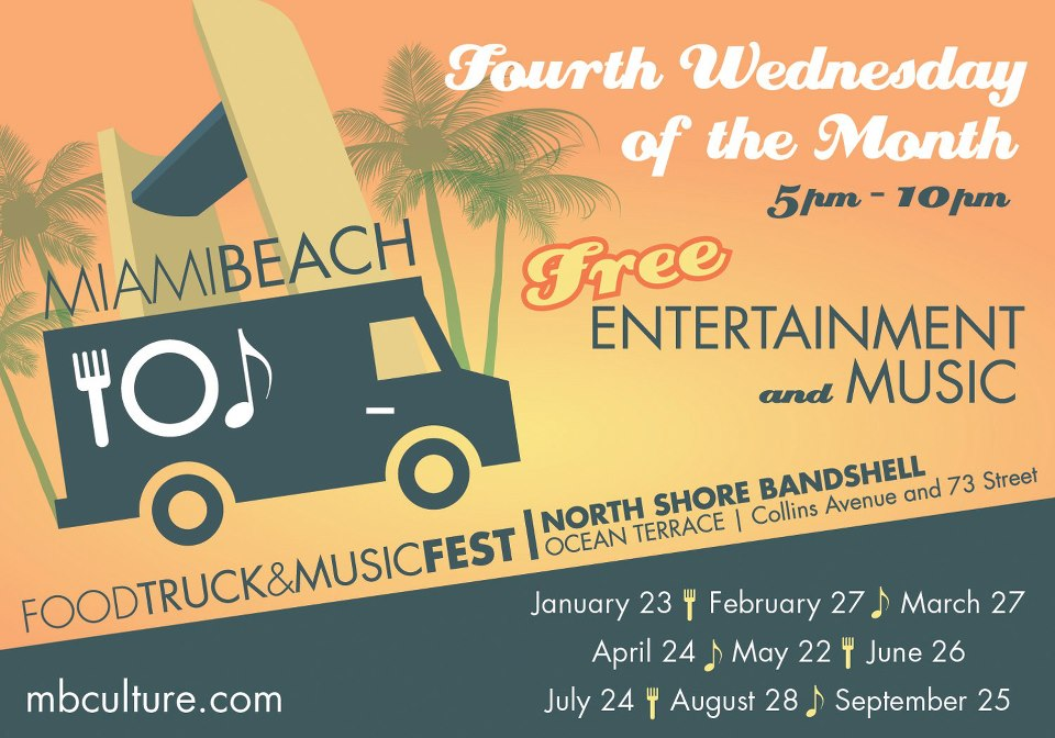 Miami Beach Food Truck and Music Fest