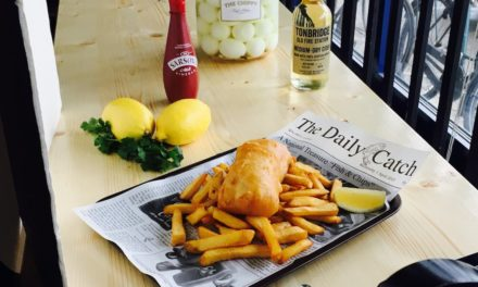 """""""The Chippy"""" opens in Miami by Award-winning British Chef Justin Brown"""