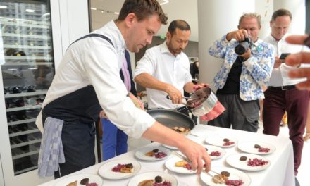 "A taste of ""Royal British Cuisine"" with Award Winning English Chef Justin Brown at Aston Martin Residences"