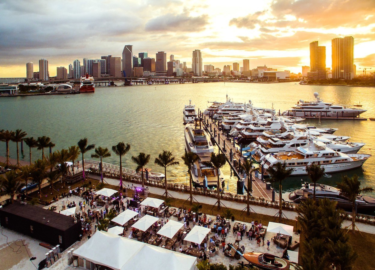The Deck at Island Gardens officially opens on Miami's first superyacht marina