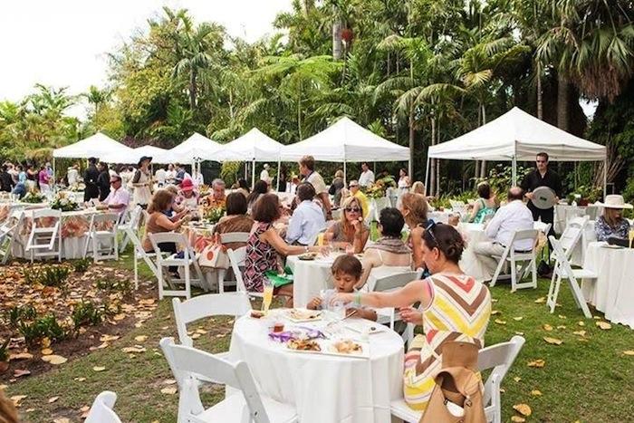 Les Dames d'Escoffier Miami presents its 8th annual Tropical Gardens Botanical Brunch
