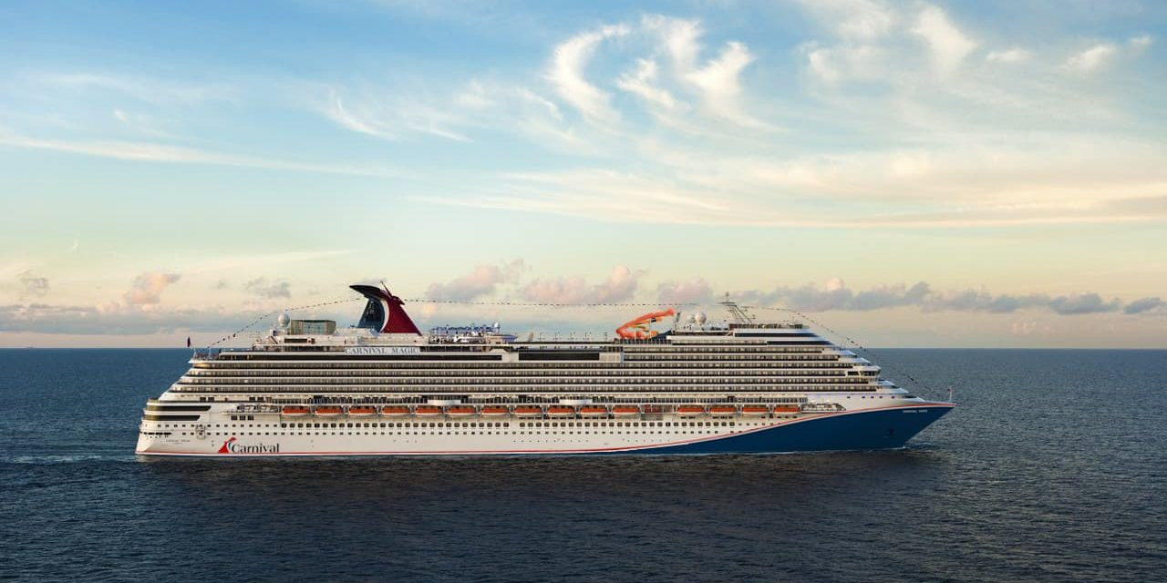 Carnival Cruise Line cleared to sail from PortMiamiin July