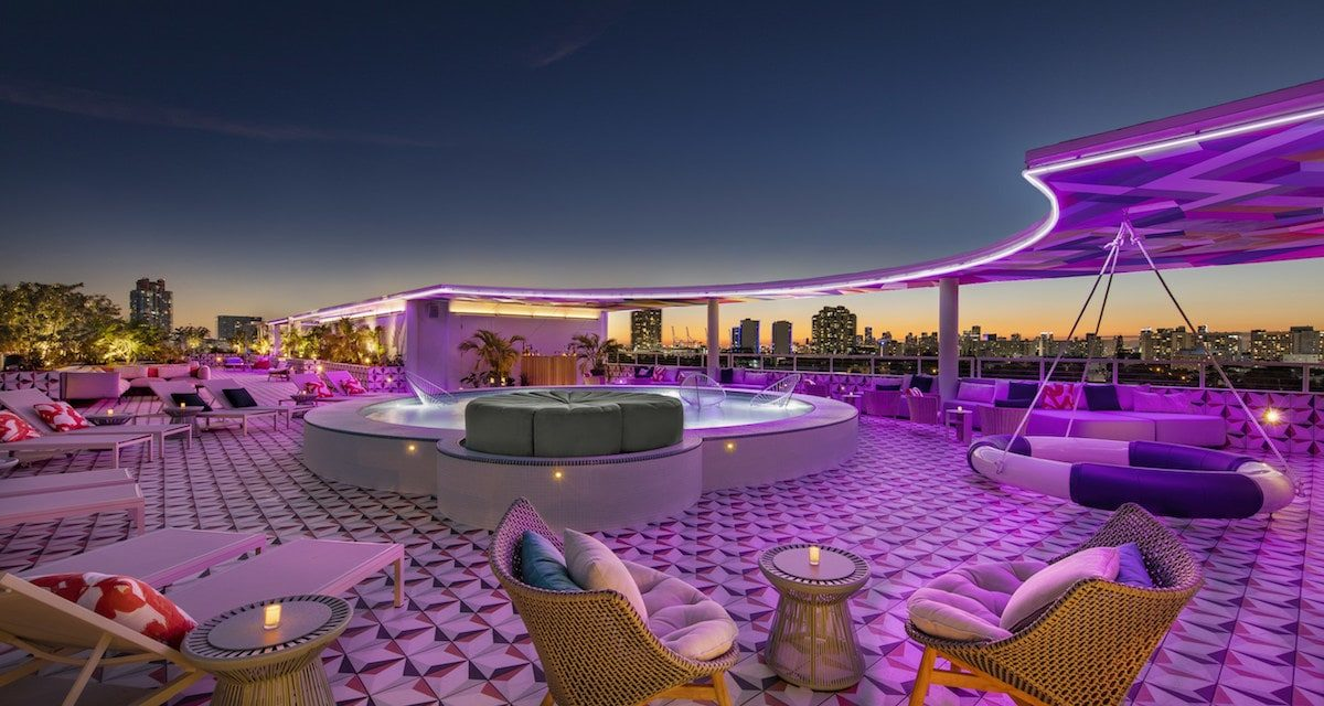 Moxy South Beach Hotel Debuts As A Stylish Playful Celebration Of Miami's Cosmopolitan Culture