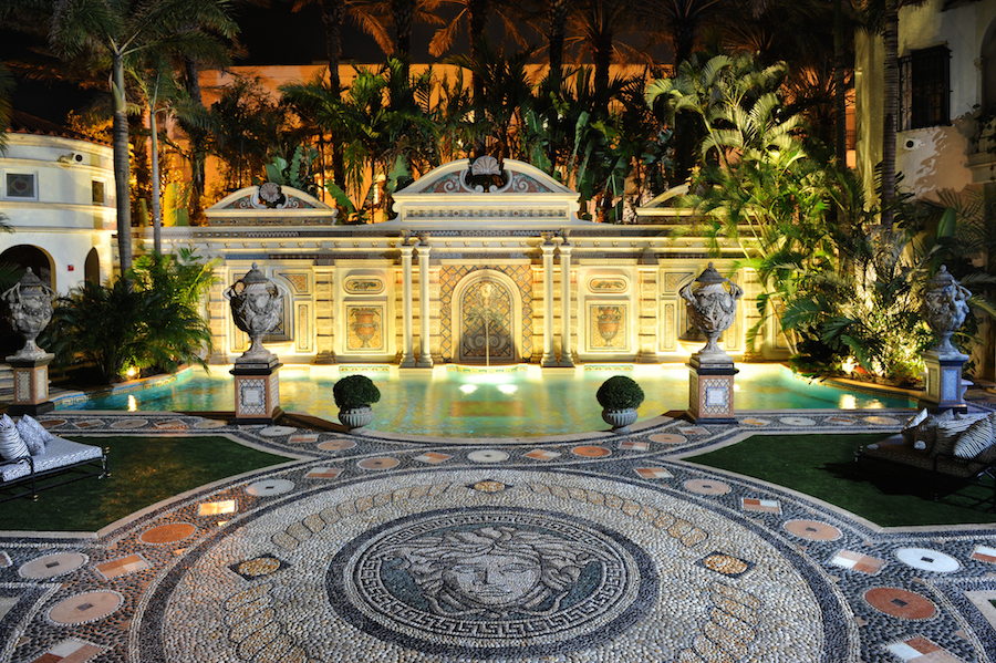 The Villa by Barton G. relaunches at former Versace mansion in Miami Beach featuring Il Sole restaurant