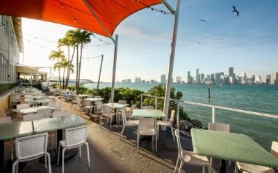 Sunset Views, Champagne, Stone Crabs, and More! Sip & Savor Rusty Pelican's New Happy Hour Offerings