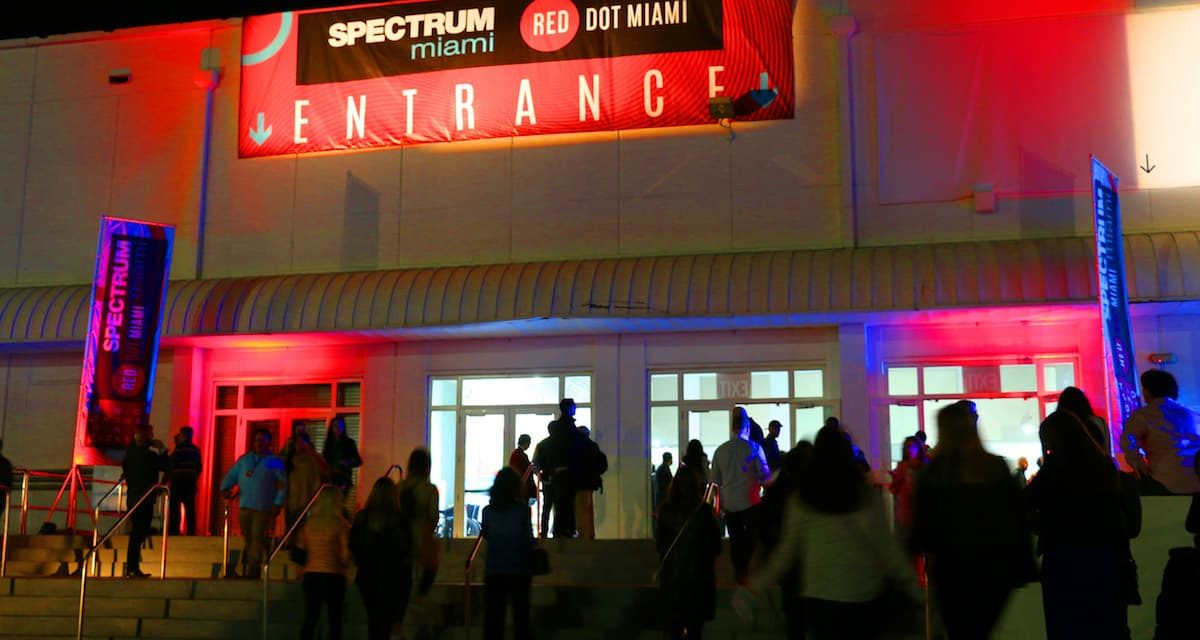 spectrum miami and red dot miami return to miami art week 2019