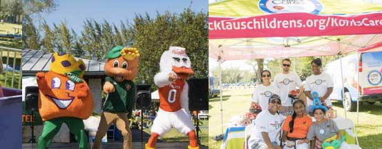 2nd Annual Family Day hosted by Junior Orange Bowl