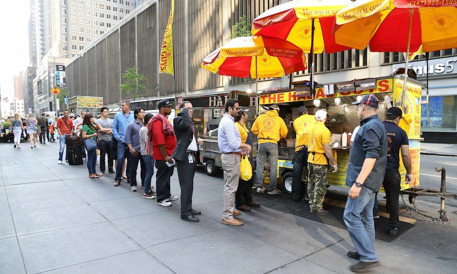 "Legendary New York City food cart ""The Halal Guys"" to open Brick & Mortar"