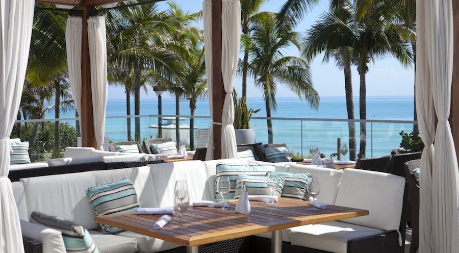 La Cote At Fontainebleau Miami Beach Chic Oceanfront Restaurant Unveils New Look And Menu