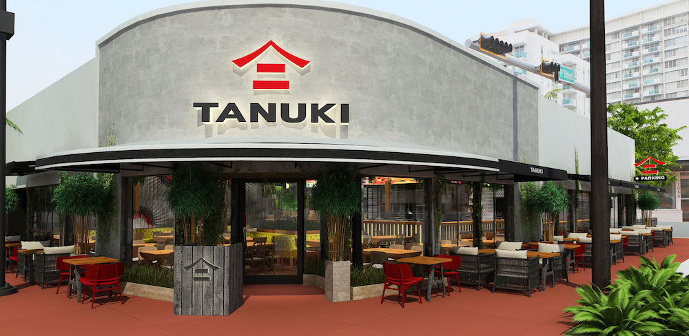 Tanuki, the International Pan-Asian concept making its U.S. debut in Miami Beach this May
