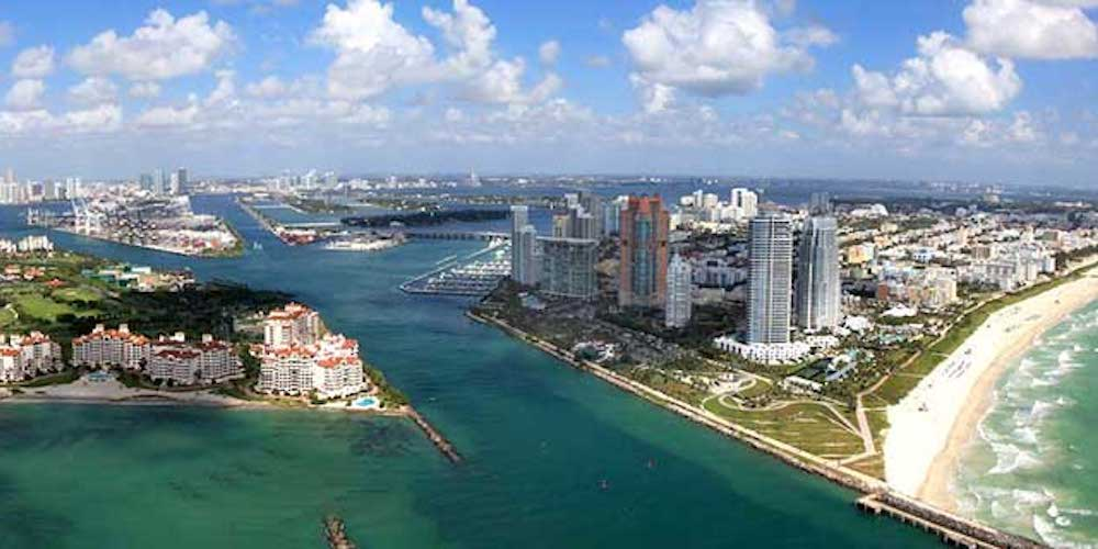 Miami Beach Hotels Map