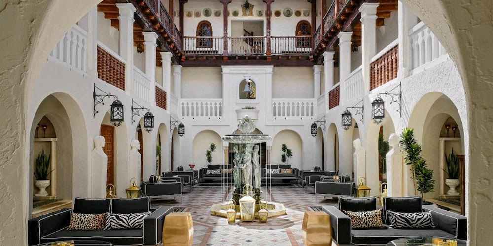 Host Your Next Dinner Party At The Former Versace Mansion